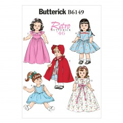 "B6149 18"" Doll Clothes (size: One Size Only)"