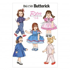 "B6150 18"" Doll Clothes (size: One Size Only)"