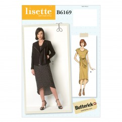 B6169 Misses' Jacket and Dress (size: 6-8-10-12-14)