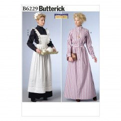 B6229 Misses' Costume (size: 14-16-18-20-22)