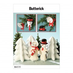 B6535 Holiday Decorations (Size: One Size Only)