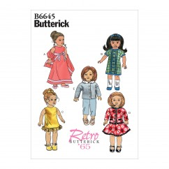 """B6645 Clothes For 18"""" Doll (Size: One Size Only)"""
