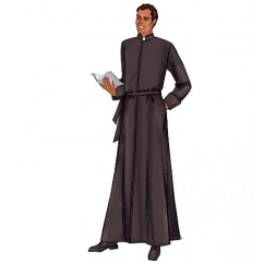 B6844 Men's Robe (size: 32-34-36)