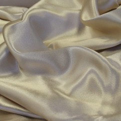 CLICHY Satin Back Crepe - Oyster