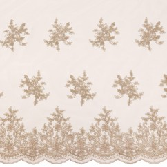 Erinn Embroidered Mesh - Stone