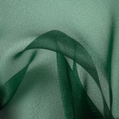 CLICHY Organza - Dark green