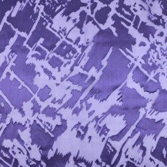 Silk burnout - ABIGAEL - Purple