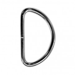"ELAN D-Ring - 30mm (1⅛"") - Silver -2 pcs"