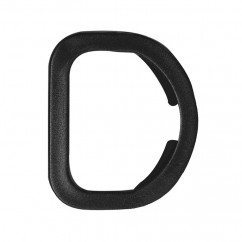 "ELAN Swivel Clip / D-Ring - 25mm (1"") - Black -1 pcs"