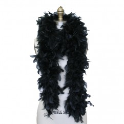 Feather Boa - Black