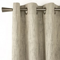 Blackout grommet curtain panel - Celeste - Taupe - 52 x 96''