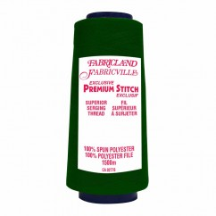 Fabricville Serging Thread 1500m - Green