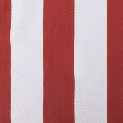 Home Decor Indoor / Outdoor Fabric - Terrazo - Cabana stripe - Red