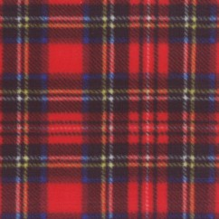 Anti-pill fleece tartans - Royal Stewart