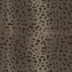 Fleece Skin Prints - Cheetah - Dark Brown