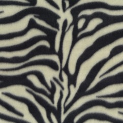 Fleece Skin Prints - Tiger - Black / Cream