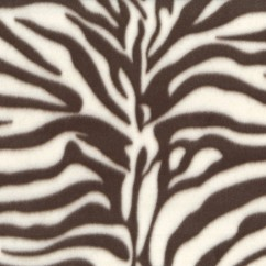 Fleece Skin Prints - Tiger - Brown