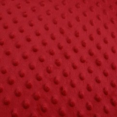 Dimple Micro Chenille - Red