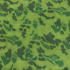 Outback Printed Fleece - Camouflage - Green