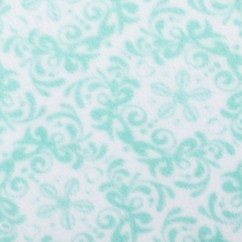 Outback Printed Fleece - Arabesque - Turquoise