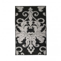Soft Decorative Mat for Living Room, Bedroom, Bathroom and Kitchen - Elegant - Grey - 26 x 59 inch (67 x 143 cm)