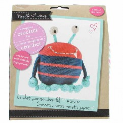 NEEDLE LICIOUS - Complete Crochet DIY Kit - Monster