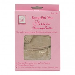 Beautiful You - Shrinx Slimming Panties - Size: A/B