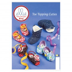 K0113 Toe Topping Cuties (size: All Sizes In One Envelope)