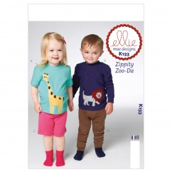 K0133 Toddlers' Top, Shorts and Pants (size: All Sizes In One Envelope)