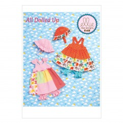 K0168 Babies Dress, Panties and Hat (size: All Sizes In One Envelope)