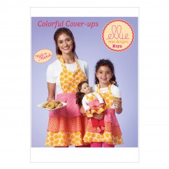 K0172 Misses'/Girls'/Dolls' Apron (size: All Sizes In One Envelope)