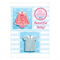 K0214 Babies' Romper, Sailor Dress and Panties (size: All Sizes in One Envelope)