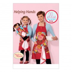 "K0229 Misses', Girls' and 18"" Doll Aprons with Detachable Towel (size: S-M-L (Misses & Girls))"