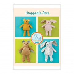 K0268 Soft Bear and Bunny (size: One Size Only)