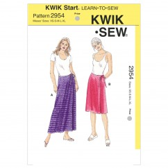 K2954 Wrap Skirts (size: XS-S-M-L-XL)