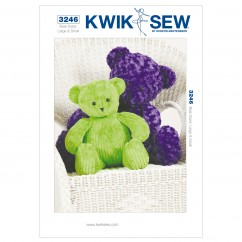 K3246 Teddy Bears (size: Large & Small)