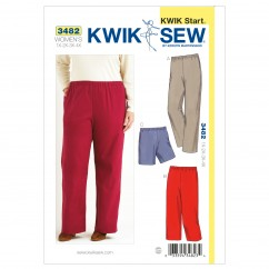K3482 Pants & Shorts (size: 1X-2X-3X-4X)