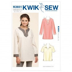 K3601 Pull-Over Tops (size: XS-S-M-L-XL)