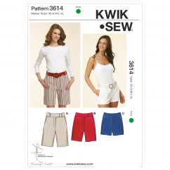 K3614 Fitted Shorts (size: XS-S-M-L-XL)