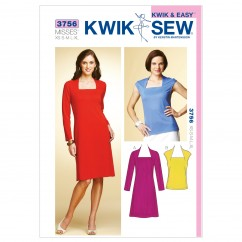 K3756 Dress & Top (size: XS-S-M-L-XL)