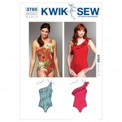 K3780 One Shoulder Swimsuits (size: XS-S-M-L-XL)