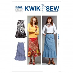 K3789 Patchy Skirts (size: XS-S-M-L-XL)