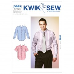 K3883 Shirts (size: S-M-L-XL-XXL with Neck Sizes 14½, 15½, 16½, 17½, 18½)