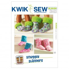 K3926 Snuggly Slippers (size: Adult & Children XS-S-M-L-XL)