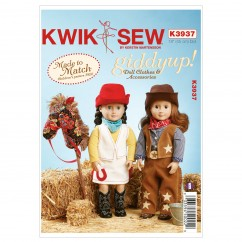 """K3937 Giddyup Doll Clothes & Accessories (size: 18"""" (45 cm) Doll)"""