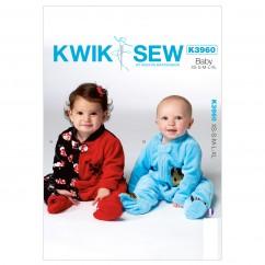 K3960 Infants' Sleeper (size: All Sizes In One Envelope)