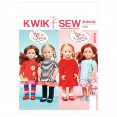 """K3965 Clothes For 18"""" Doll (size: One Size Only)"""