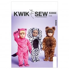 """K3966 Clothes For 18"""" Doll (size: One Size Only)"""