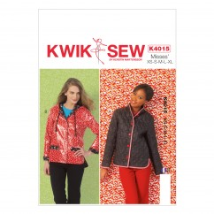 K4015 Misses' Lined Jackets (size: All Sizes In One Envelope)