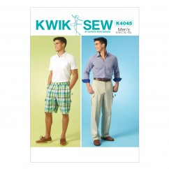 K4045 Men's Shorts and Pants (size: All Sizes In One Envelope)